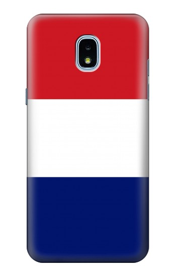 Printed Flag of France and the Netherlands Samsung Galaxy J3 (2018) Case