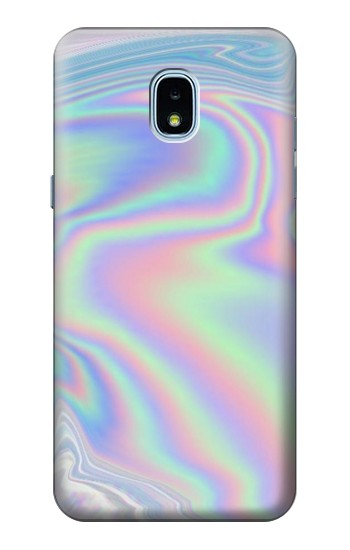 Printed Pastel Holographic Photo Printed Samsung Galaxy J3 (2018) Case