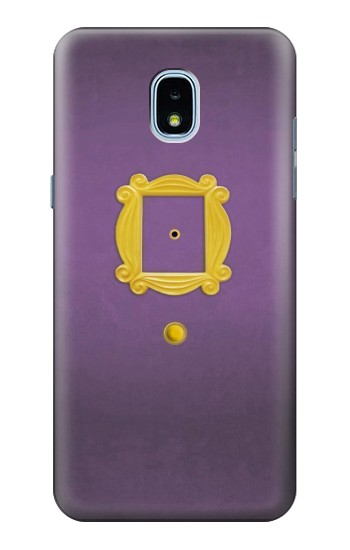 Printed Friends Purple Door Minimalist Samsung Galaxy J3 (2018) Case