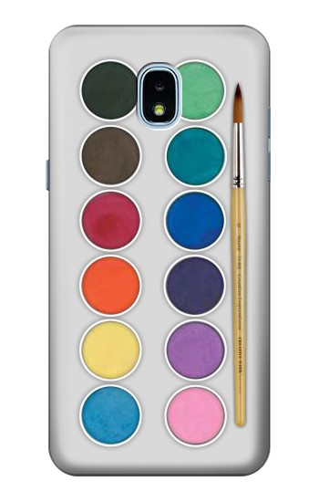 Printed Mixing Color Plate Samsung Galaxy J3 (2018) Case