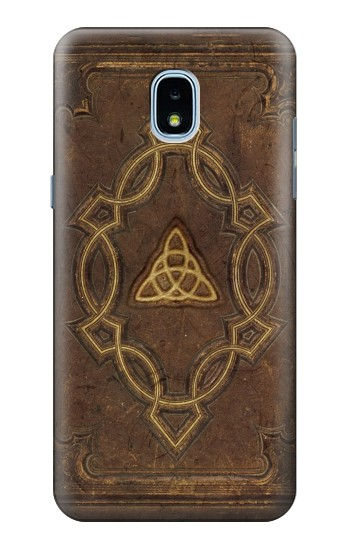 Printed Spell Book Cover Samsung Galaxy J3 (2018) Case