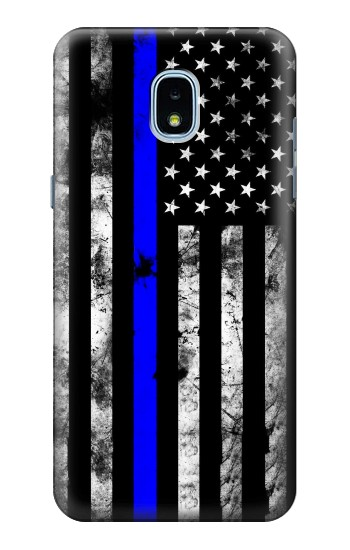 Printed Thin Blue Line USA Samsung Galaxy J3 (2018) Case