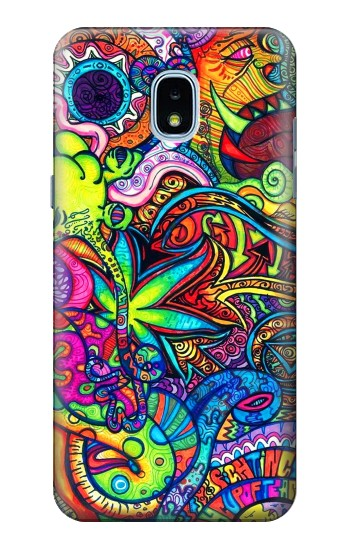 Printed Colorful Art Pattern Samsung Galaxy J3 (2018) Case