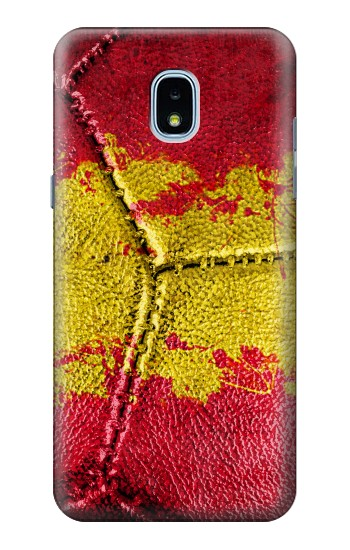 Printed Spain Flag Vintage Football 2018 Samsung Galaxy J3 (2018) Case