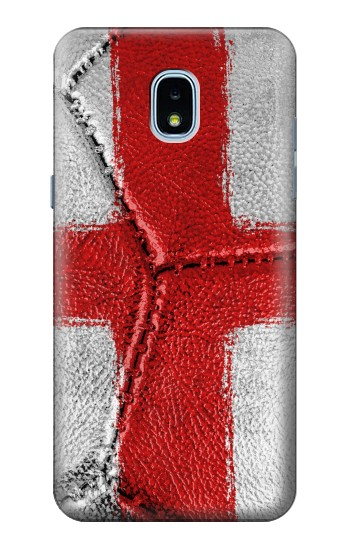 Printed England Flag Vintage Football 2018 Samsung Galaxy J3 (2018) Case