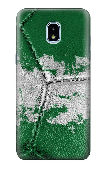 Printed Nigeria Flag Vintage Football 2018 Samsung Galaxy J3 (2018) Case