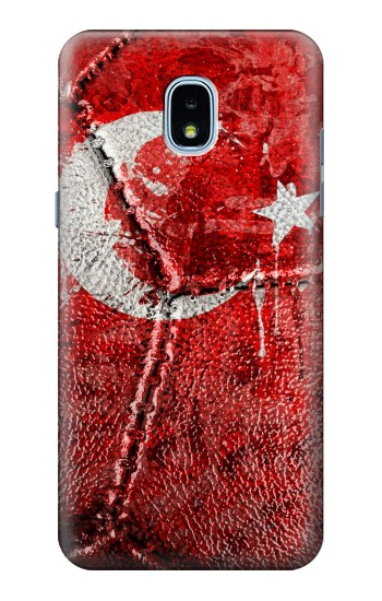 Printed Turkey Flag Vintage Football 2018 Samsung Galaxy J3 (2018) Case