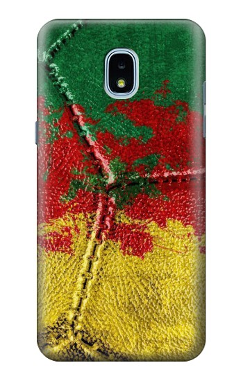 Printed Senegal Flag Vintage Football 2018 Samsung Galaxy J3 (2018) Case