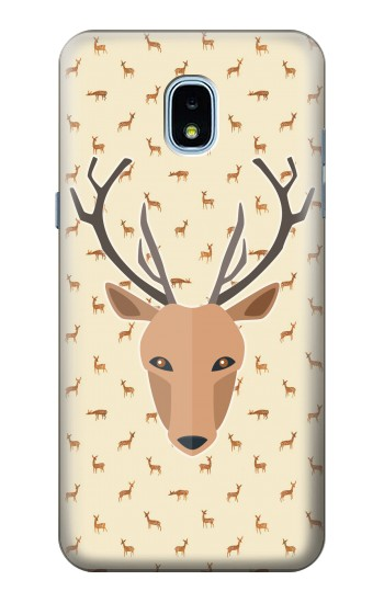 Printed Deer Pattern Samsung Galaxy J3 (2018) Case