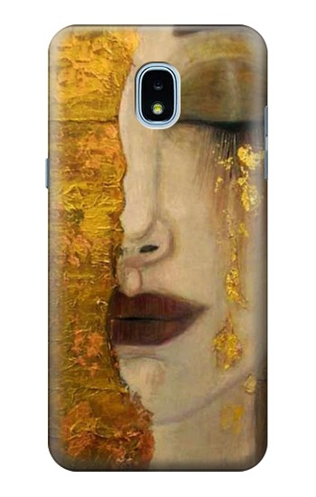 Printed Gustav Klimt Golden Tears Samsung Galaxy J3 (2018) Case