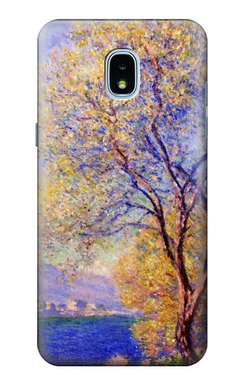 Printed Claude Monet Antibes Seen from the Salis Gardens Samsung Galaxy J3 (2018) Case