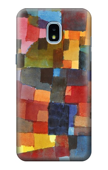 Printed Paul Klee Raumarchitekturen Samsung Galaxy J3 (2018) Case