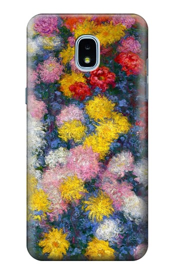 Printed Claude Monet Chrysanthemums Samsung Galaxy J3 (2018) Case