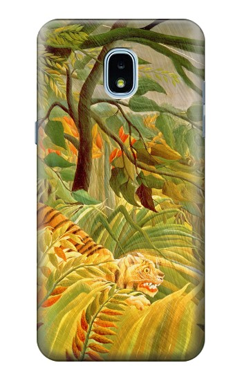 Printed Henri Rousseau Tiger in a Tropical Storm Samsung Galaxy J3 (2018) Case