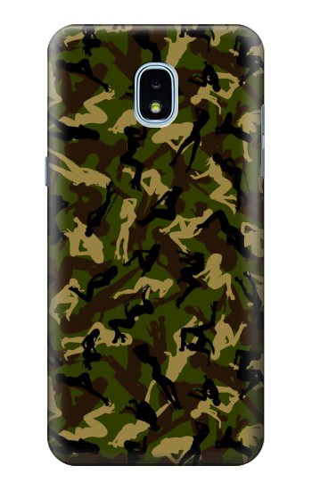 Printed Sexy Girls Camo Samsung Galaxy J3 (2018) Case