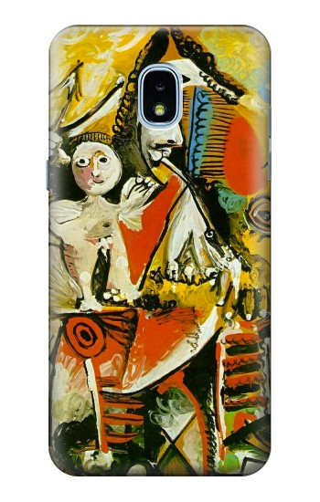 Printed Picasso Painting Cubism Samsung Galaxy J3 (2018) Case