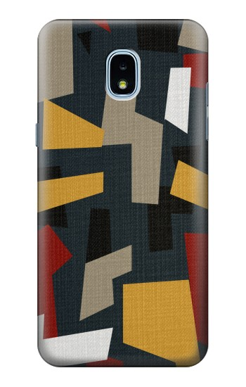 Printed Abstract Fabric Texture Samsung Galaxy J3 (2018) Case