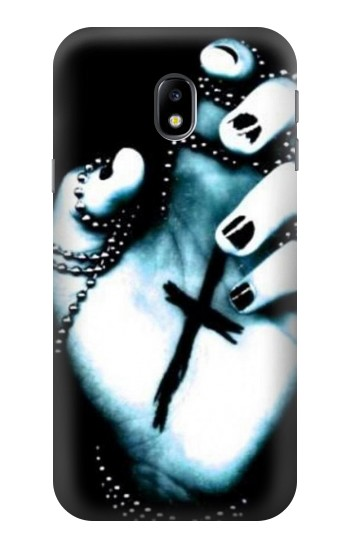 Printed Dark Gothic Cross Hand HTC One A9 Case