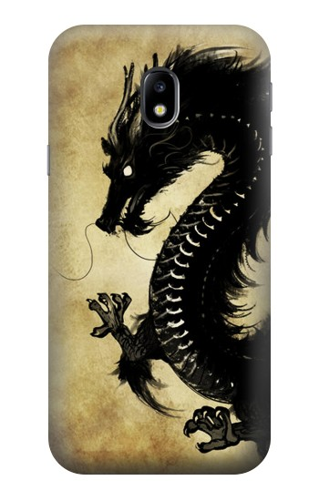 Printed Black Dragon Painting HTC One A9 Case