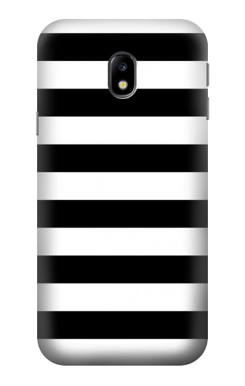 Printed Black and White Striped HTC One A9 Case