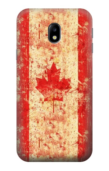 Printed Canada Flag Old Vintage HTC One A9 Case