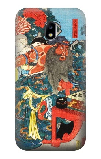 Printed Japan Art Utagawa Kuniyoshi Guan Yu HTC One A9 Case