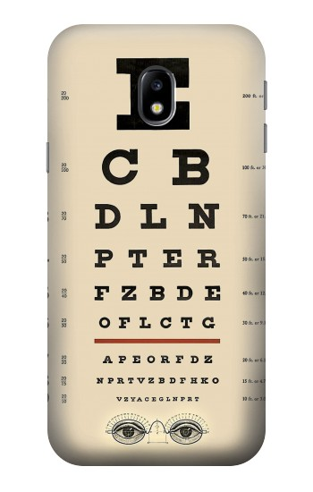Printed Eye Exam Chart Decorative Decoupage Poster HTC One A9 Case
