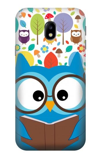 Printed Cute Owl Cartoon HTC One A9 Case