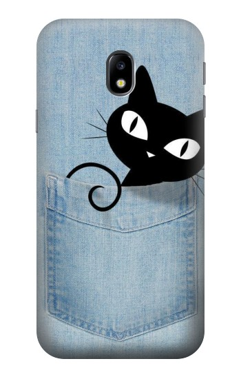 Printed Pocket Cat HTC One A9 Case