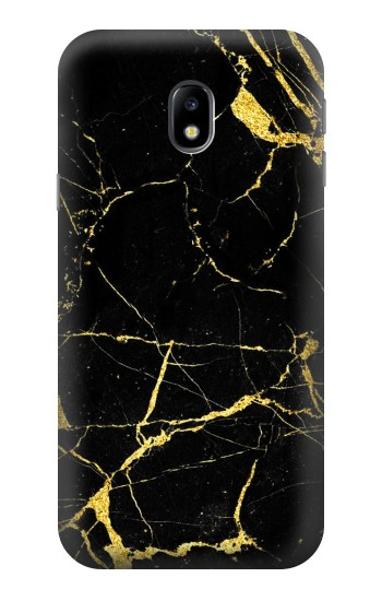 Printed Gold Marble Graphic Printed HTC One A9 Case