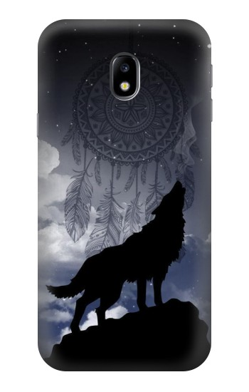 Printed Dream Catcher Wolf Howling HTC One A9 Case