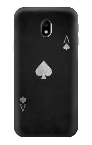 Printed Black Ace of Spade HTC One A9 Case