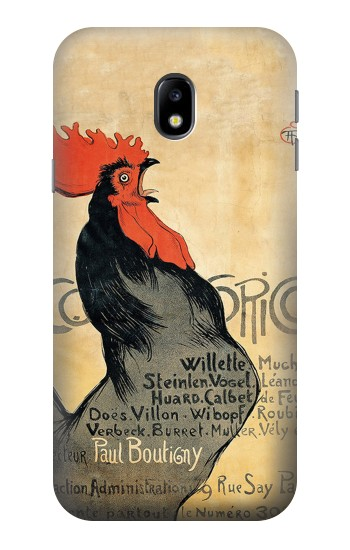 Printed Cocorico Rooster Vintage French Poster HTC One A9 Case