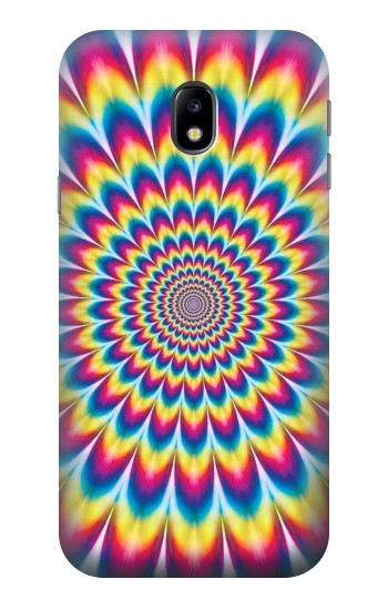 Printed Colorful Psychedelic HTC One A9 Case