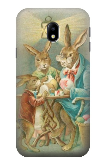 Printed Easter Rabbit Family HTC One A9 Case