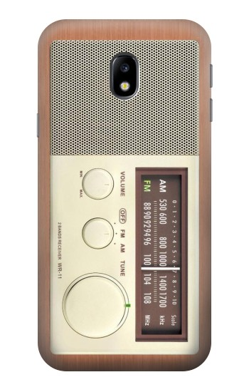 Printed FM AM Wooden Receiver Graphic HTC One A9 Case
