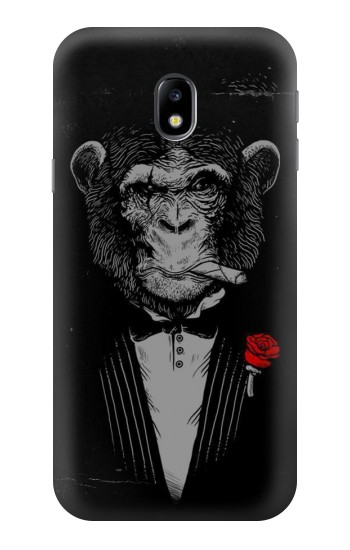 Printed Funny Monkey God Father HTC One A9 Case