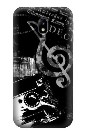 Printed Music Cassette Note HTC One A9 Case