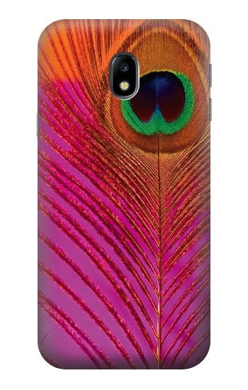 Printed Pink Peacock Feather HTC One A9 Case