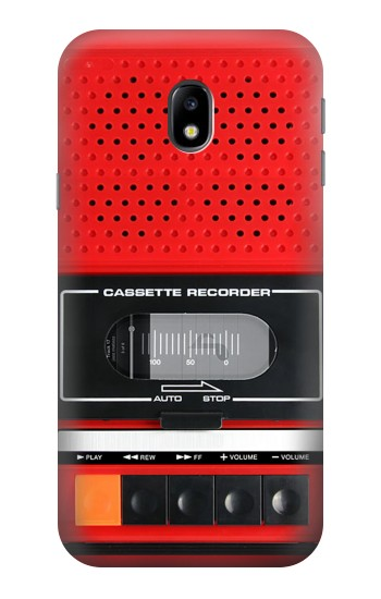 Printed Red Cassette Recorder Graphic HTC One A9 Case
