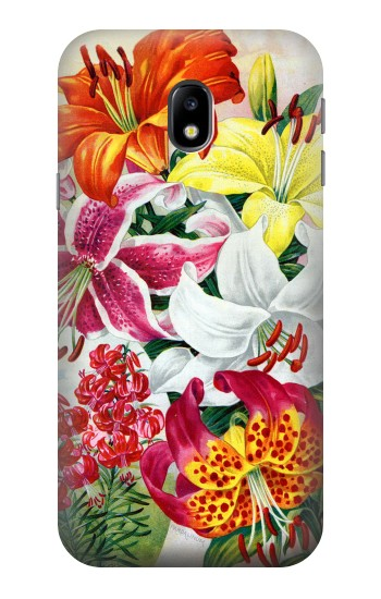 Printed Retro Art Flowers HTC One A9 Case