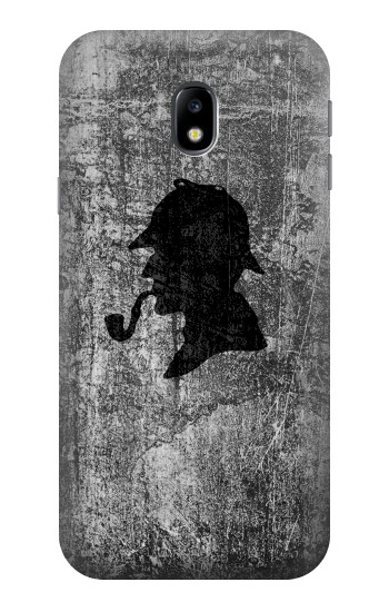 Printed Sherlock Holmes Silhouette HTC One A9 Case