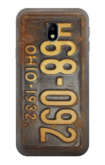Printed Vintage Car License Plate HTC One A9 Case