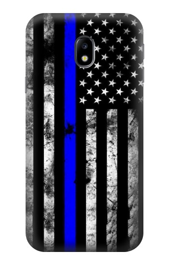 Printed Thin Blue Line USA HTC One A9 Case