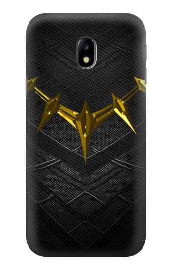 Printed Black Panther Inspired Costume Gold Necklace HTC One A9 Case