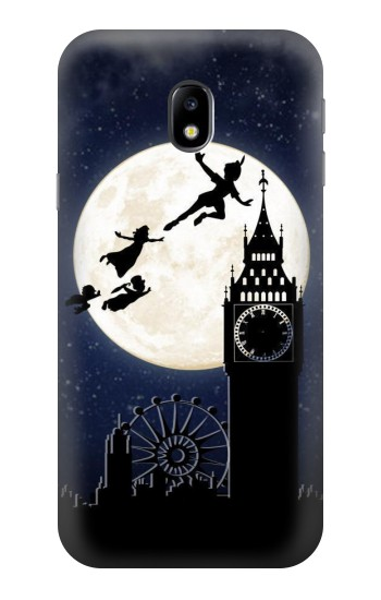 Printed Peter Pan Fly Fullmoon Night HTC One A9 Case