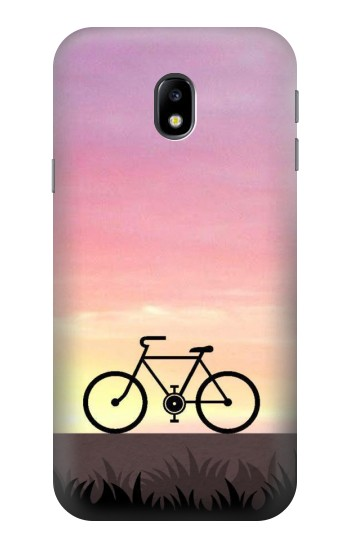 Printed Bicycle Sunset HTC One A9 Case
