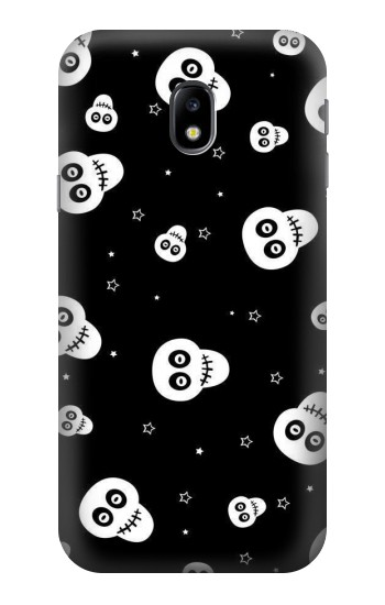 Printed Skull Pattern HTC One A9 Case