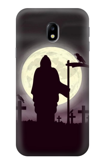 Printed Night Moon Cemetery HTC One A9 Case