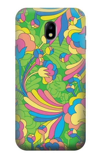 Printed Flower Line Art Pattern HTC One A9 Case